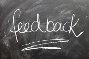acompanhamento de feedback