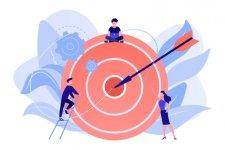 As metas devem ser estipuladas de acordo com a área e precisam estar alinhadas aos objetivos da empresa.